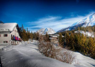 The Alpen Retreat in winter