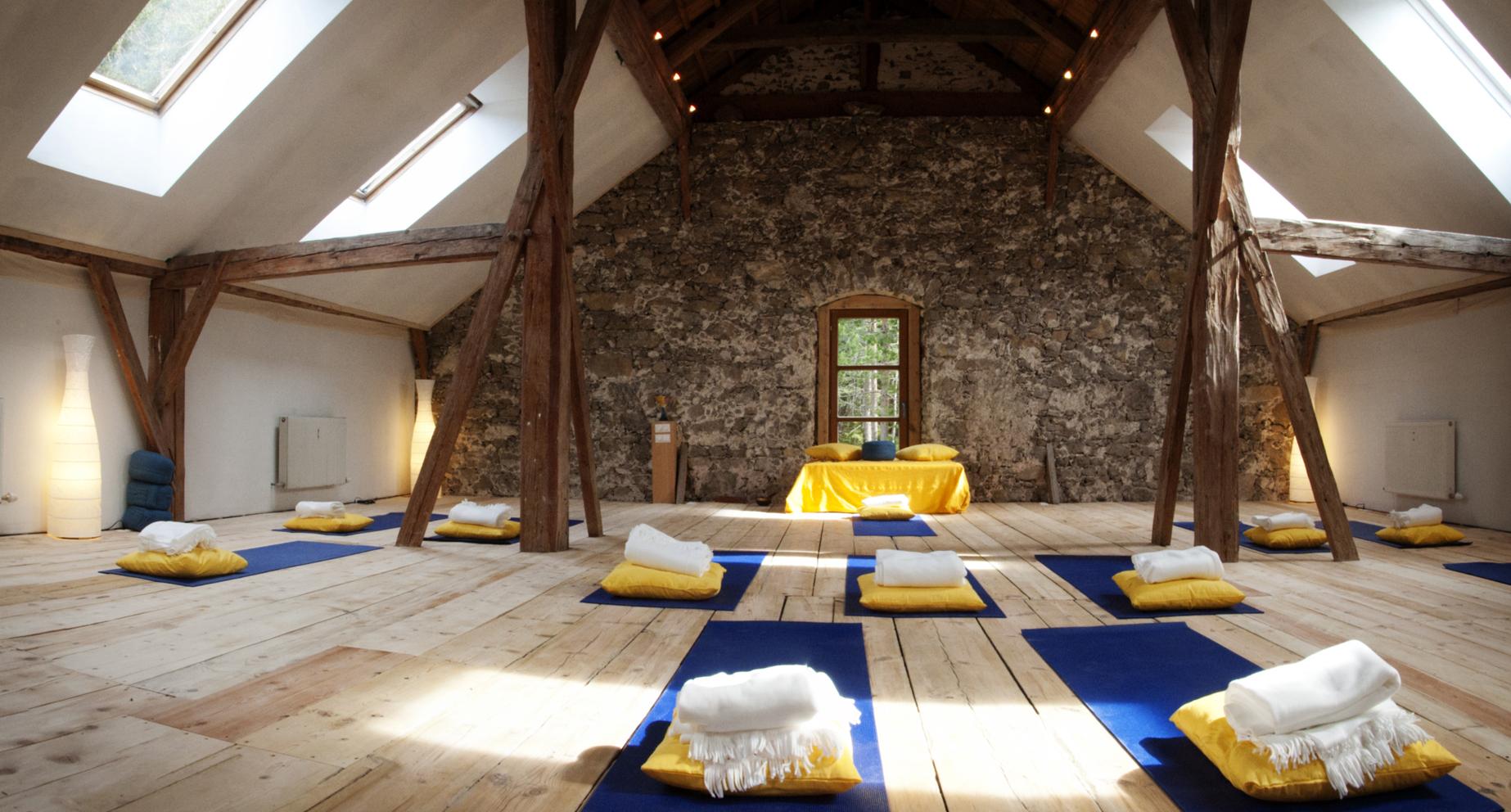 Alpen Retreat - Yoga hall